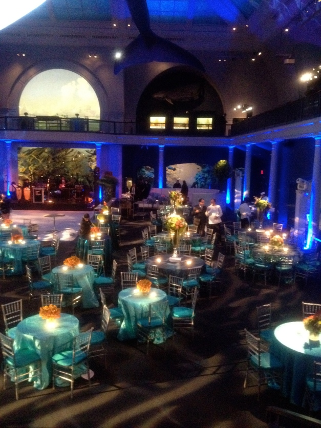 Event lighting in New York City