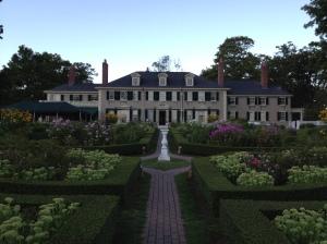 Hildene house and gardens