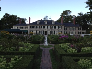 Hildene house and gardens