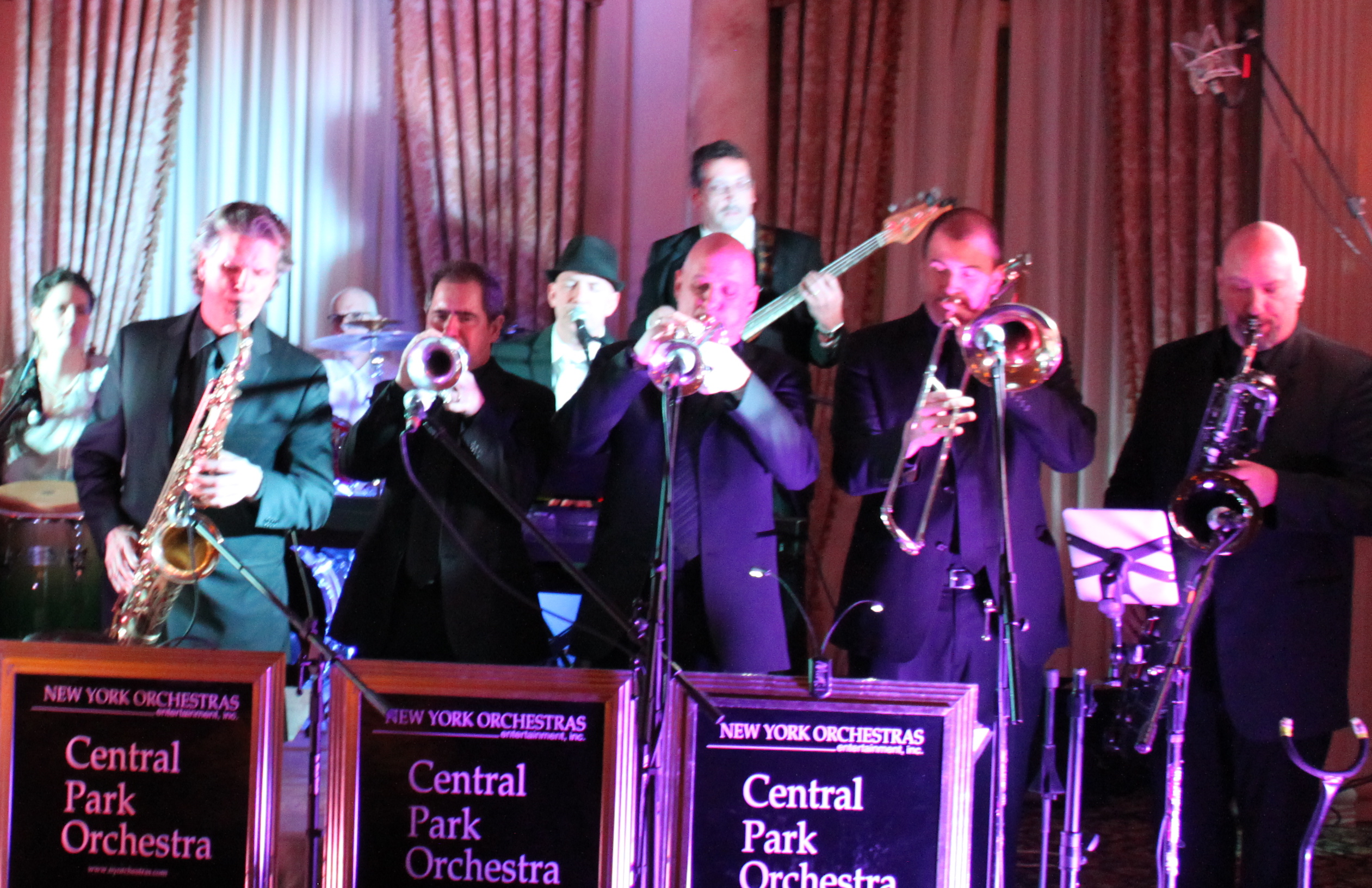 Central Park Orchestra A New York Wedding Band Live Wedding Bands In New York Amp NY DJs