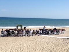 Gurneys Montauk wedding ceremony