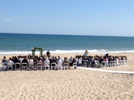 Gurneys Montauk wedding ceremony