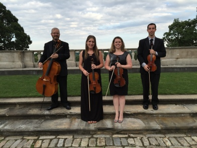 Ny string quartet Oheka Castle