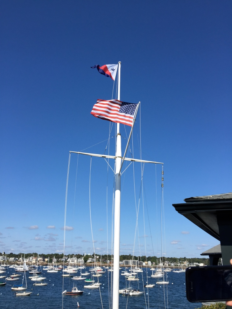 Yacht Club flags