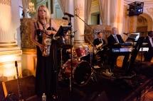 Jazz alto saxophonist Paula Atherton