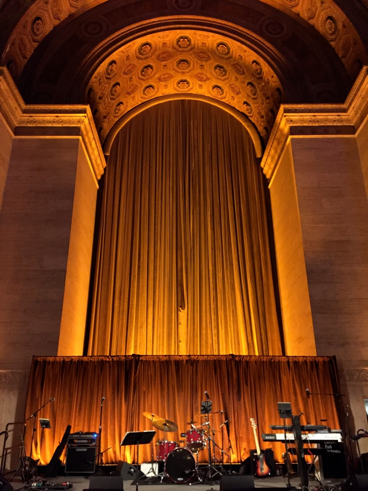 Band stage at Cipriani Wall Street 25 Broadway