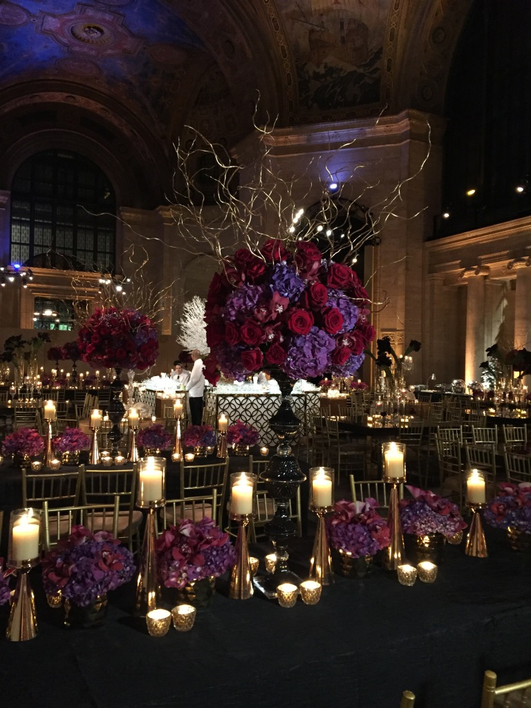 Cipriani 25 Broadway NYC - event decor floral