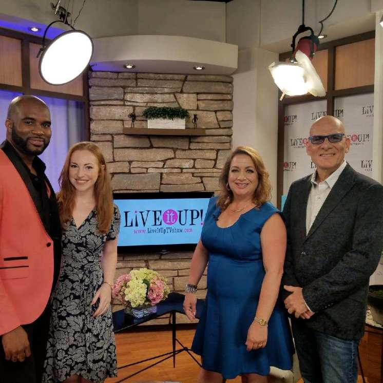 """The Vibe on """"Live It Up"""" TV show"""